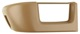 Cover, Back rest Backseat bench left beige 1345086 (1060214) - Volvo 700