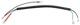 Kabelsatz, Kennzeichenleuchte 1215351 (1060416) - Volvo 200