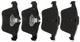 Brake pad set Front axle 30793539 (1061108) - Volvo S60 XC, V60 XC