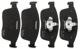 Brake pad set Front axle 31445985 (1062395) - Volvo XC60 (-2017)