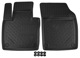 Floor accessory mats Synthetic material black  (1062844) - Volvo XC90 (2016-)