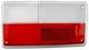 Lens, Combination taillight right  (1063464) - Volvo 140, 164, 200