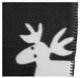 Fleece blanket Elk grey-white