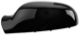 Cover, Outside mirror left black glossy  (1064032) - Volvo S60 (-2009), S80 (-2006), V70 P26, XC70 (2001-2007)