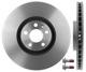 Brake disc Front axle internally vented 31471752 (1064442) - Volvo S90 V90 (2017-), V90 XC, XC60 (2018-), XC90 (2016-)