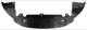 Air guide Bumper front 31353600 (1064571) - Volvo S80 (2007-), V70 (2008-)