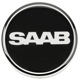 Wheel Center Cap black for Genuine Light alloy rims Piece  (1064923) - Saab 9-3 (2003-), 9-5 (-2010)