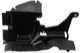 Air guide Nosepanel right lower 30796467 (1066472) - Volvo S60 (2011-2018), V60 (2011-2018)