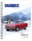 Writing pad Volvo P1800 DIN A5