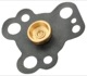 Diaphragm, Carburettor Stromberg 175 CD2 7519572 (1066833) - Saab 90, 99, 900 (-1993)