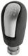 Shift knob Leather Metal 30759049 (1067020) - Volvo C30, C70 (2006-), S40 V50 (2004-)