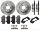 Brake disc Front axle internally vented System Bendix Kit for both sides  (1067179) - Volvo 700