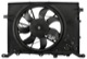 Electrical radiator fan 30680512 (1067547) - Volvo S60 (-2009), S80 (-2006), V70 P26, XC70 (2001-2007)