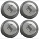 Wheel Center Cap Elk for Genuine Light alloy rims Kit  (1068317) - Volvo 200, 700, 850, 900, C30, C70 (2006-), C70 (-2005), S40 (-2004), S40 V50 (2004-), S60 (2019-), S60 (-2009), S60, V60, S60XC, V60XC (2011-2018), S70 V70 V70XC (-2000), S80 (2007-), S80 (-2006), S90 V90 (2017-), S90 V90 (-1998), V40 (2013-), V40 XC, V60 (2019-), V60 XC (19-), V70 P26, XC70 (2001-2007), V70 XC70 (2008-), V90 XC, XC40, XC60 (2018-), XC60 (-2017), XC90 (2016-), XC90 (-2014)
