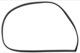 Türdichtung vorne an Karosserie links Gummi 682296 (1068788) - Volvo P1800