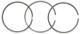 Kolbenringsatz 1. Schleifmaß 275373 (1069610) - Volvo 700, 900
