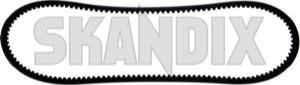 V-belt 888 mm 10 mm 976411 (1000638) - Volvo 120 130 220, 140, 164, 200, P1800, P1800ES, PV P210 - 1800e brick p1800e v belt 888mm 10mm vbelt 888mm 10mm Own-label 10 10mm 888 888mm mm powersteering power steering pump
