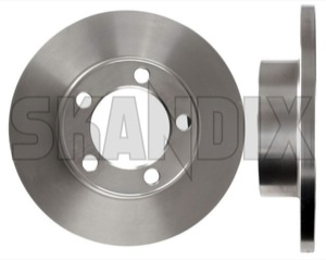 Brake disc Front axle  (1001507) - Volvo 120 130, 220, P1800 - 1800e brake disc front axle brake rotor brakerotors p1800e rotors Own-label 114,3 1143 114 3 114,3 1143mm 114 3mm 4,5 45 4 5 4,5 45inch 4 5inch axle front hub inch mm without