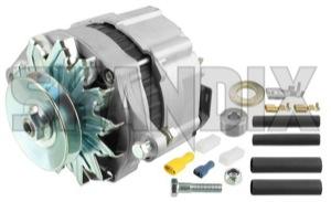 Alternator 55 A 12V 5001612 (1001688) - Volvo 120 130 220, 140, 164, 200, P1800, P1800ES, P210, PV - 1800e alternator 55a 12v ampere brick p1800e Own-label 12v 55 55a a generator insinde new part regulator