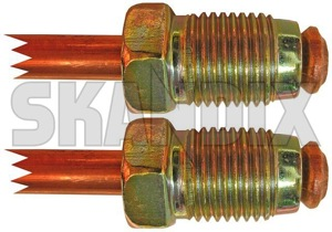 Brake lines Front axle fits left and right Strut  (1004621) - Volvo 200 - brake lines front axle fits left and right strut brick Own-label      and axle brake caliper fits front hose left right strut
