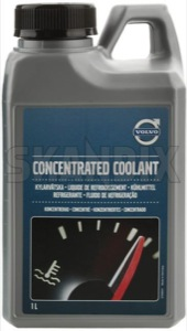 Antifreeze 1 l Concentrate 31439720 (1009697) - Volvo universal - antifreeze 1 l concentrate engine coolants radiators Genuine g11  g11  1 1l blue canister concentrate l