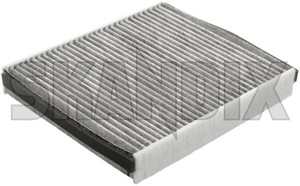 Cabin Air Filter Activated Carbon 30780377 (1011465)   Volvo C30, C70 (2006