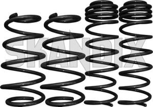 Tieferlegungssatz 30 mm  (1013192) - Saab 9-5 (-2010) - 95 95 9 5 9600 estate fahrwerksfedersatz federnsatz federsatz kombi schraubenfedersatz senksatz sportfahrwerk tieferlegungsfahrwerk tieferlegungsfedern tieferlegungssaetze tieferlegungssatz 30mm wagon lesjoefors 30 30mm aero fuer mm modell nicht ohne tuevgutachten tuev gutachten