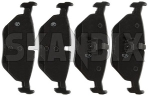 Brake pad set Rear axle 5058110 (1013315) - Saab 9-5 (-2010) - brake pad set rear axle Own-label axle rear