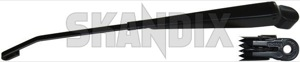 Wiper arm, Windscreen washer for Windscreen right 1392942 (1015270) - Volvo 200 - brick wiper arm windscreen washer for windscreen right wipers Genuine blade cap cleaning cover covering drive for hand left lefthand left hand lefthanddrive lhd right vehicles window windscreen wiper with without
