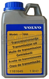 Transmission oil Manual transmission 75W 1161645 (1015329) - Volvo 850, 900, S40 V40 (-2004), S90 V90 (-1998) - brick gear oil gearbox fluid gearbox oil gearboxfluid gearboxoil gearoil manual transmission fluid tranny fluid tranny oil trannyfluid trannyoil transmission oil transmission oil manual transmission 75w transmissionoil Genuine 1 1l 75w canister gl4 l manual transmission