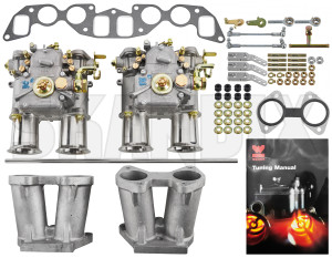 Carburettor Weber 45 DCOE 152 Kit  (1015580) - Volvo 120 130 220, 140, P1800, P1800ES, PV P210 - carburetor carburettor weber 45 dcoe 152 kit weber 152 45 carburetor carburettor choke dcoe double dual kit manual stage twin two twostage weber