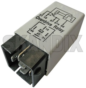 Relay Overdrive Automatic transmission 1363444 (1016052) - Volvo 700, 900 - brick relais relay overdrive automatic transmission Own-label automatic overdrive overdriverelay transmission