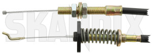 Accelerator cable 8335986 (1016400) - Saab 900 (-1993) - accelerator cable throttlecable throttlelinks throttler throttlewire Own-label 538 538mm 780 780mm mm