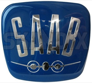 Emblem Bonnet 821586 (1017979) - Saab 95, 96 - badges emblem bonnet Own-label adhesive bonnet gel label