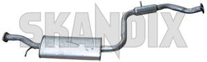 Mittelschalldämpfer 30865221 (1018316) - Volvo S40 V40 (-2004) - auspufftopf mittelschalldaempfer mitteltopf resonator s40 s40i schalldaempfer v40 v40i Hausmarke