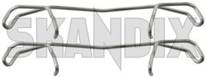 Montagesatz, Bremsbelag Hinterachse 5061759 (1019405) - Saab 9-5 (-2010) - 95 95 9 5 9600 anbaukit anbausatz anbauset befestigung befestigungsatz befestigungskit befestigungsset bremsbelagmontagesatz bremsbelagsatz bremskloetze bremsklotzmontagesatz bremskoetze bremssteinmontagesatz einbaukit einbausatz einbauset montagekit montagesaetze montagesatz montagesatz bremsbelag hinterachse montageset scheibenbremsbelagmontagesatz stiftesatz zubehoerkit zubehoersatz zubehoerset Hausmarke hinten hinterachse hinterer