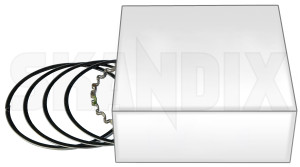 Piston ring kit Standard 31330721 (1019538) - Volvo 850, 900, C70 (-2005), S40 (-2004) V40, S70 V70 (-2000), S80 (-2006), S90 V90 - brick piston ring kit standard Genuine 1 for kit piston standard