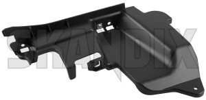 Mounting bracket, Bumper front right 12787168 (1020069) - Saab 9-3 (2003-) - console mounting bracket bumper front right Genuine air baffle front plate right