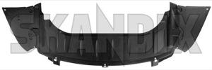 Air guide Bumper front 12824861 (1020070) - Saab 9-3 (2003-) - aerofoils air baffle plates air guide bumper front airfoils deflectors vanes ventilation plates Genuine bumper front