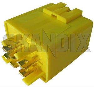 Relay Window wiper  (1020840) - Volvo 200, 700, 900 - brick relais relay window wiper Own-label circuit cleaning for interval programmable window windscreen wiper wiperrelay with