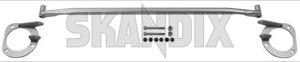 Domstrebe Aluminium Satz 9204176 (1020962) - Volvo 850, C70 (-2005), S70 V70 V70XC (-2000) - 850 850er 854 855 8er cabrio cross country domstrebe aluminium satz domstreben fahrwerksstreben momentabstuetzung motorlager querstab querstrebe s70 v70 v70i v70xc xc Original aluminium fuer lhd linkslenker satz set