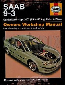 skandix shop saab parts book workshop manual saab 9 3 english 1021039 rh skandix de Saab 9-3 Convertible Saab 9-3 2.0T Sport Sedan