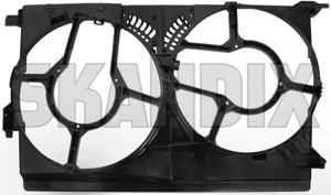 Housing, Radiator fan 24410993 (1021259) - Saab 9-3 (2003-) - housing radiator fan Own-label