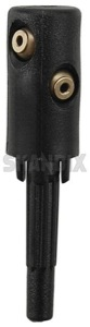 Nozzle, Windscreen washer for Rear window 30634270 (1023611) - Volvo V70 P26, XC70 (2001-2007) - nozzle windscreen washer for rear window squirter jet nozzle window washer nozzle wiper washer nozzle Genuine cleaning for rear window
