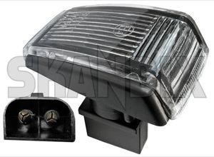 Indicator, side transparent 9178885 (1023776) - Volvo 200, 700, 850, 900, C70 (-2005), S40 V40 (-2004), S70 V70 V70XC (-2000), S90 V90 (-1998) - brick indicator side transparent Genuine fender transparent wing