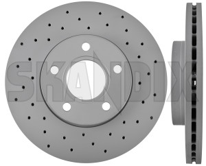 Brake disc Front axle perforated/ internally vented Sport Brake disc  (1023976) - Volvo C30, C70 (2006-), S40 V50 (2004-) - brake disc front axle perforated internally vented sport brake disc brake disc front axle perforatedinternally vented sport brake disc brake rotor brakerotors rotors zimmermann abe  abe  15 15inch 278 278mm axle brake certification disc front general inch mm perforatedinternally perforated internally sport vented with