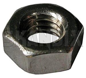 Mutter metrisch M4 verzinkt 19629 (1024044) - universal  - mutter metrisch m4 verzinkt muttern sechskantmuttern Hausmarke m4 metrisch verzinkt verzinkter zink