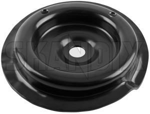Spring cap Front axle left upper 1205823 (1025787) - Volvo 200 - brick spring cap front axle left upper spring disc spring seat Genuine axle front left upper