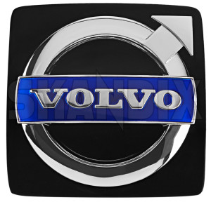 Emblem Kühlergrill 30655104 (1027794) - Volvo C30, S40 (2004-), S80 (2007-), V50, V70 XC70 (2008-), XC90 (-2014) - badges coupe cross country emblem kuehlergrill embleme enbleme estate gelaendewagen kombi limousine plaketten s40 s40ii s80 s80ii s80l schriftzug sedan stufenheck suv v50 v70 v70iii v70xc wagon xc xc70 xc90 Original 74,2 742 74 2 74,2 742mm 74 2mm kuehlergrill mm