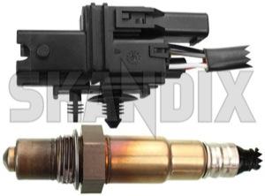 Lambda sensor Regulating probe 8670278 (1028026) - Volvo S80 (-2006) - lambda sensor regulating probe bosch probe regulating right